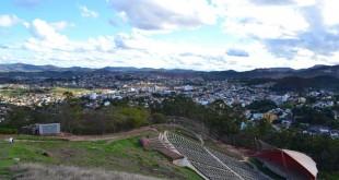 Vista panorâmica de Itabira-MG/Foto: Cláudia Brasil.