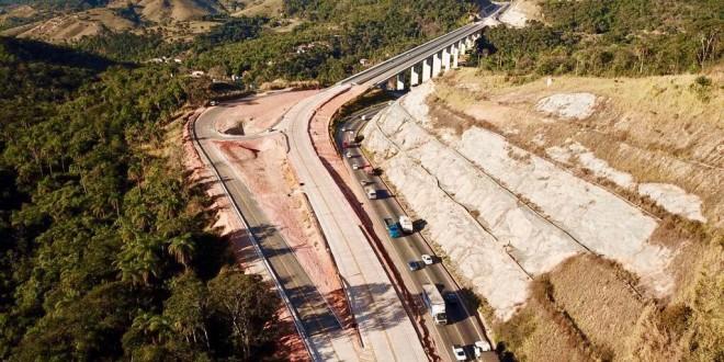 Trecho duplicado da BR-381 no município de Antônio Dias