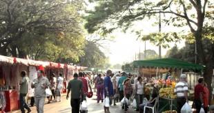 Atual feira livre em Paracatu