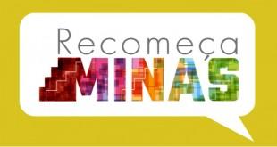 Logomarca do projeto Recomeça Minas