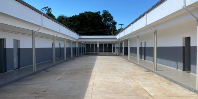 Escola de Barao de Cocais reformada recursos garantidos por tito torres