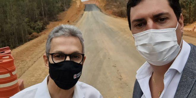 Tito Torres e Romeu Zema visitam Vale do Aço